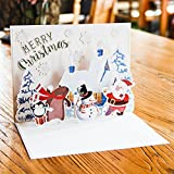 Paper Spiritz Happy holidays Pop up Christmas Cards - Best Reviews Guide