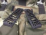 1911-GovernmentCommander-Full-Size-Grips-Aluminum-Matte-Black-Cobra-Skeleton