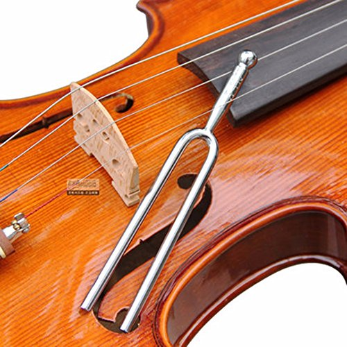 supla tuning fork with soft shell case standard a 440 hz violin guitar tuner instrument. Black Bedroom Furniture Sets. Home Design Ideas