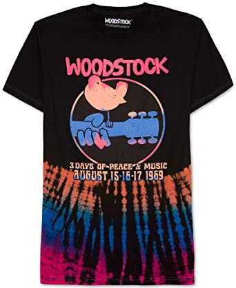b72ff471d Amazon.com  Hybrid Men s Vintage Style Woodstock T-Shirt X Large ...