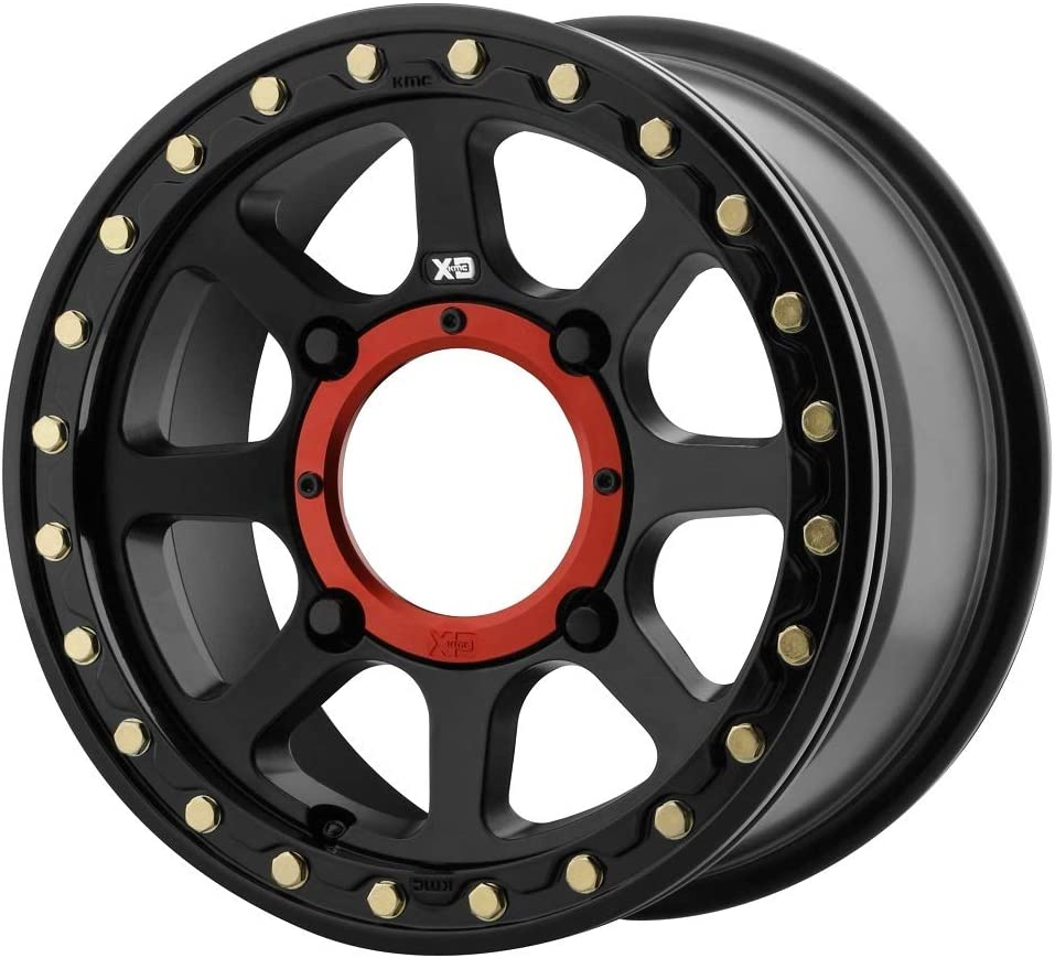 Fits 4//137 Tusk Teton Beadlock Wheel 14x7 5.0 2.0 Smoke//Black Bombardier