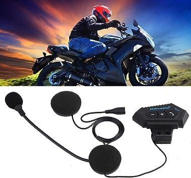 EBTOOLS Motorcycle Intercom Bluetooth Helmet Headset BT V4.1, Wireless Helmet Communication Systems for Motor Motorbike, Motor Helmet Headset.