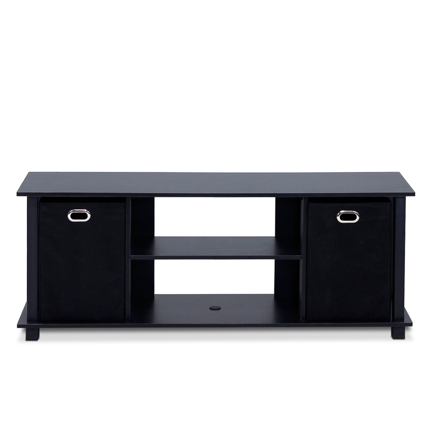 Furinno 13054BK/BK Econ Entertainment Center, Black by Furinno