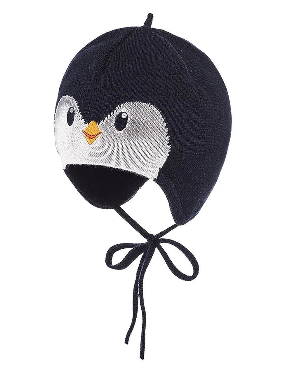 maximo Mütze Pinguin, Bindeband, Bonnet Bébé Garçon Bonnet Bébé Garçon 75571-342700