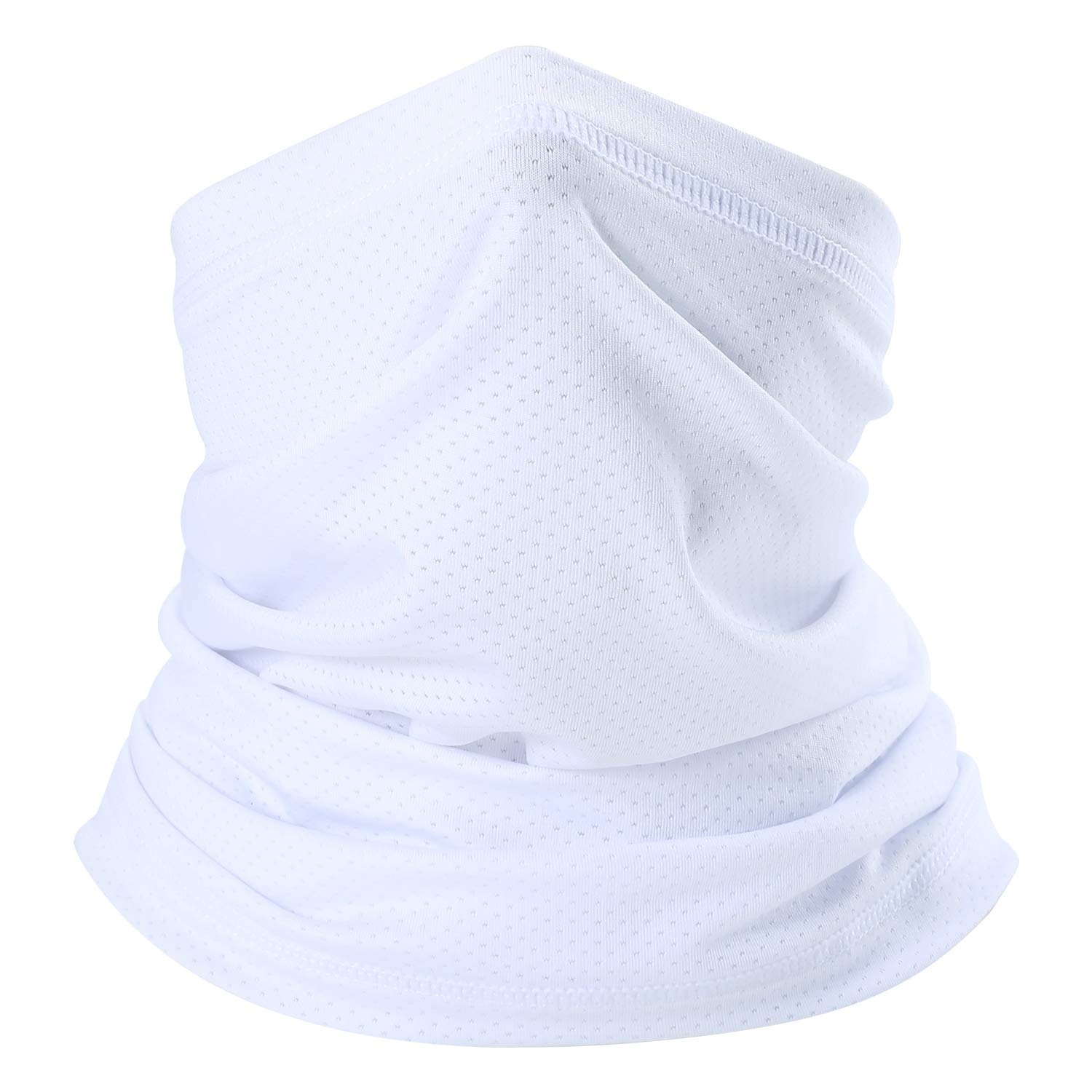Outdoor Fishing LAYOPO Summer Face Scarf Mask Breathable Sun UV Protection Neck Gaiter Thin Windproof Face Mask Headwear for Hiking Cycling Running