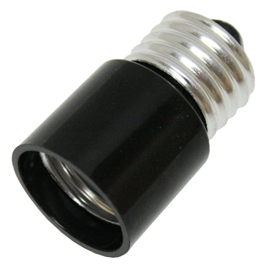 General 02006 - Medium Screw (E26) Base Bakelite Socket Extender (Extends Bulb 1'') (MED/MED BAKELITE SCKT EXTEND)