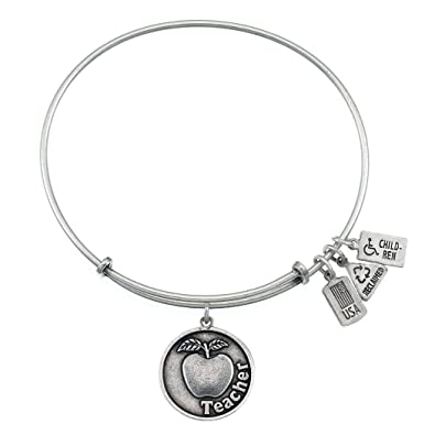 2bb18cd3b8268 Wind and Fire Teacher w/ Apple Charm Bangle