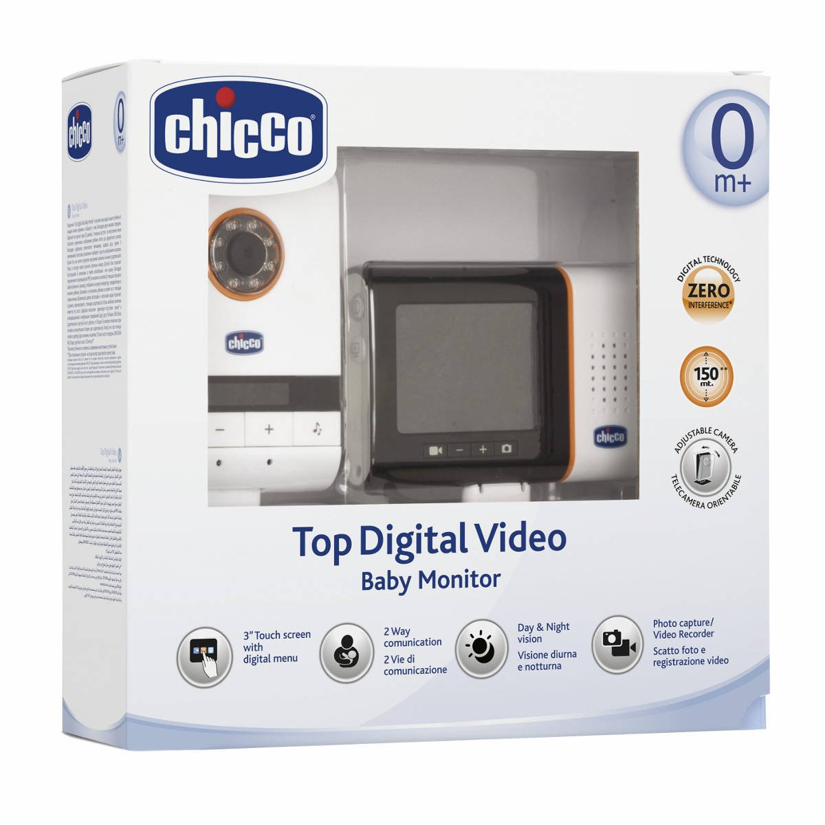 Chicco 025670 - Baby Controllo Top Digital Video product image