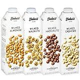 4pk Elmhurst Milked Variety Pack Almond Hazelnut Cashew Walnut Milk Delicious