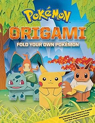 Pokemon Origami: Fold Your Own Pokemon!