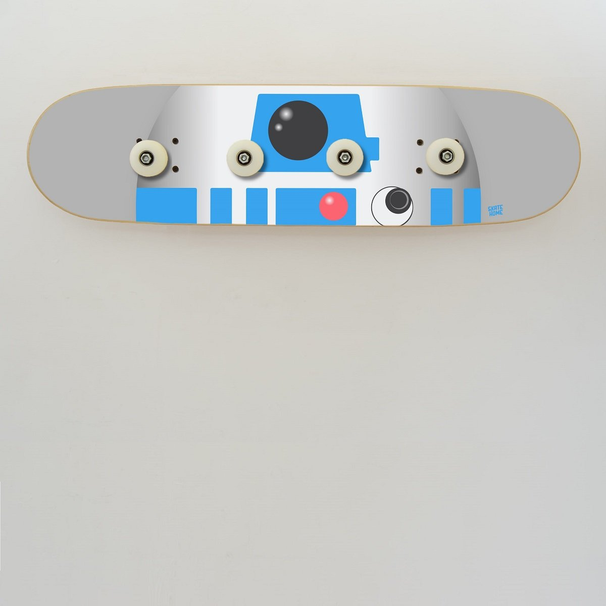 Skateboard Star Wars R2-D2 Perchero de Pared Moderno de ...