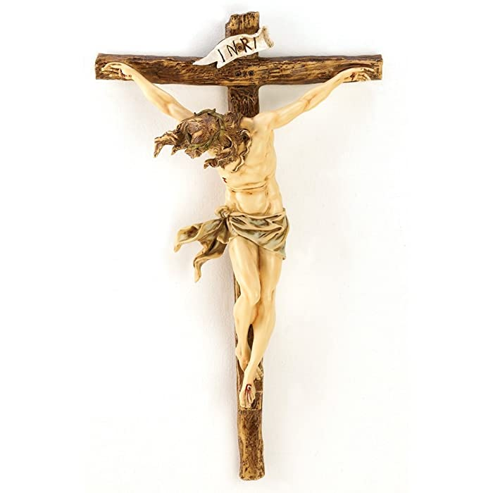 Gifts & Decor 12698 Classic Renaissance Crucifix, Multicolor