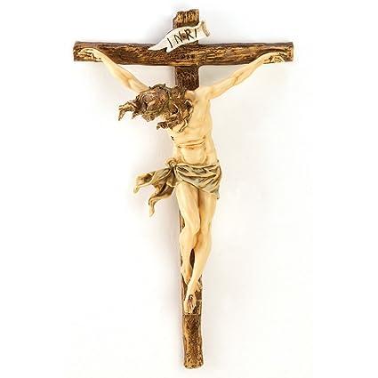 Gifts U0026 Decor Classic Renaissance Crucifix Jesus On Cross Christian Wall  Decor