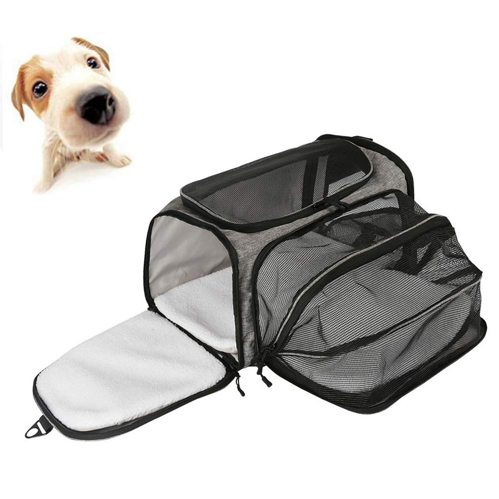 Pet Carrier, for Cats and Puppies, Breathable, 40  25.5  26cm
