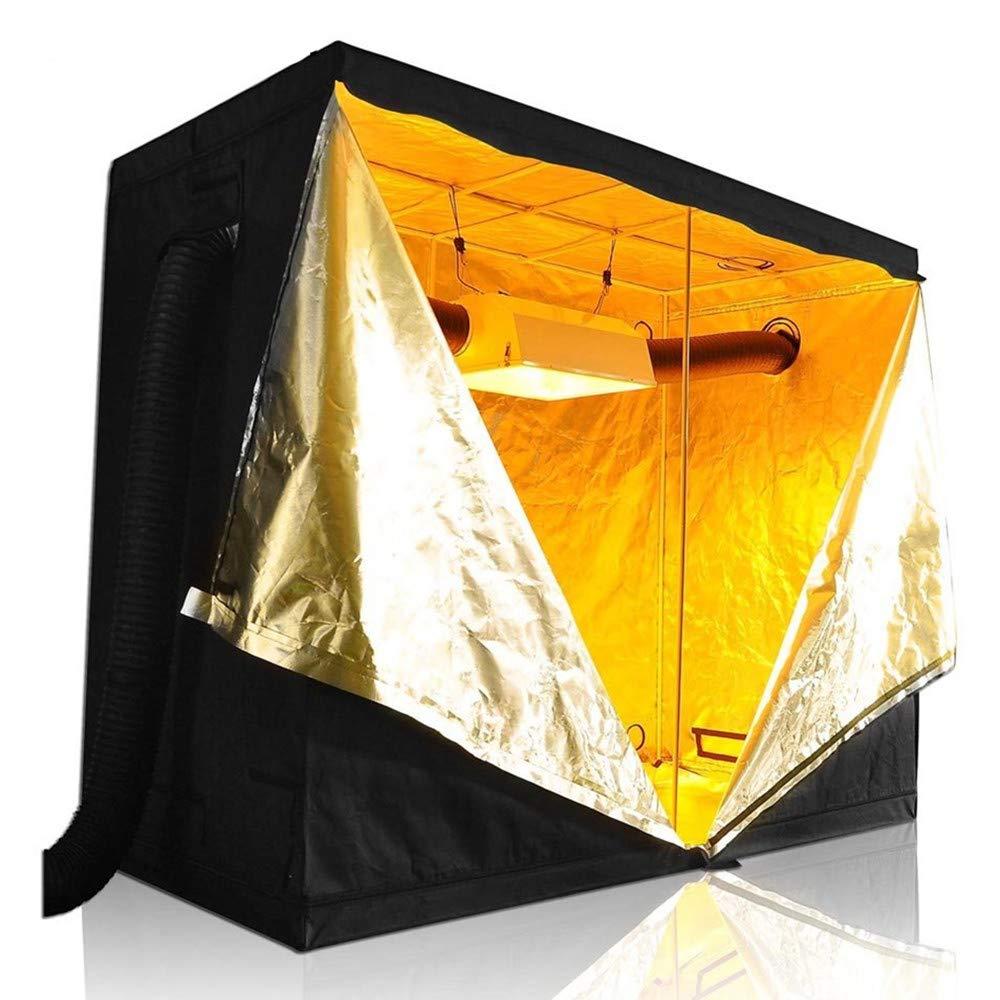 240×120×200センチメートル屋内水耕栽培テントを育てる、室内植物を育てる、庭の温室 B07T19PQLG