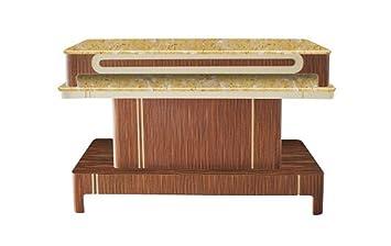 Amazon.com : TTS Serona Nail Salon Furniture Manicure Table, Trolley ...