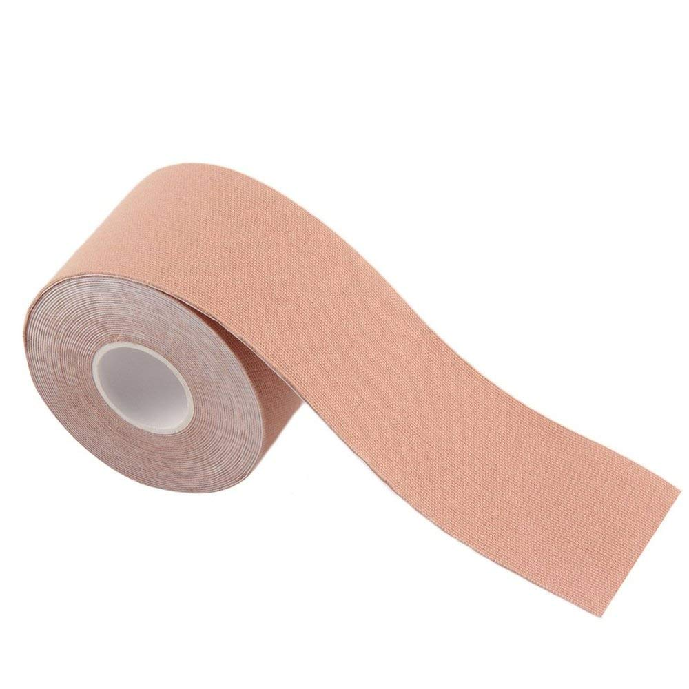 BFHCVDF 1 Roll 5cm x 5m Kinesiology Sports Elastic Tape Muscle Pain Care Therapeutic Skin color