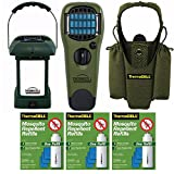 Thermacell Picnic Defender Kit: MR-9L Lantern, Repeller Device with Holster, 3 Refill Packs