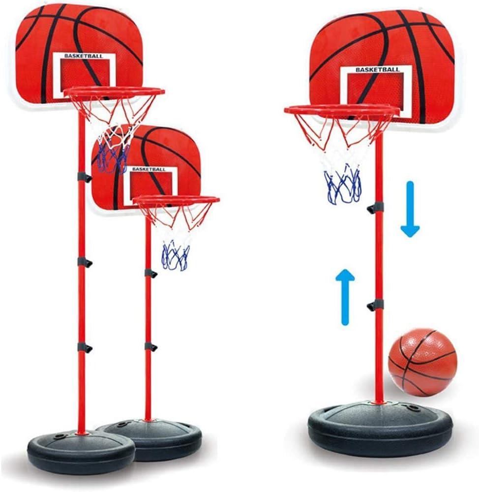 ZFAME Infantil aro de Baloncesto y Juego de Tablero, montado en la Pared portátiles Juguetes de los Deportes de Interior y Exterior de los niños equipados con Pelotas de Tenis y Bombas de Aire