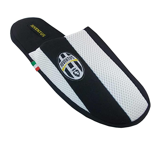 SLIPPERS JUVENTUS FUSSBALL ORIGINAL ITALIAN JUVEBEST_A