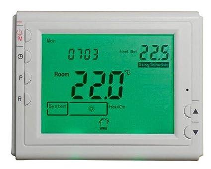 Bravo termostato con temporizador semanal digital