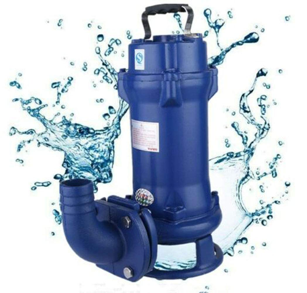 Submersible Water Pump Sewage Pump Cutting Sewage Water Pump Industrial Sewage Cutter Grinder Cast iron Submersible by US DELIVER