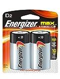 Energizer Max D Batteries, Double-pack E95BP-2