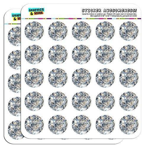 Diamonds Calendar Scrapbooking Crafting Stickers product image