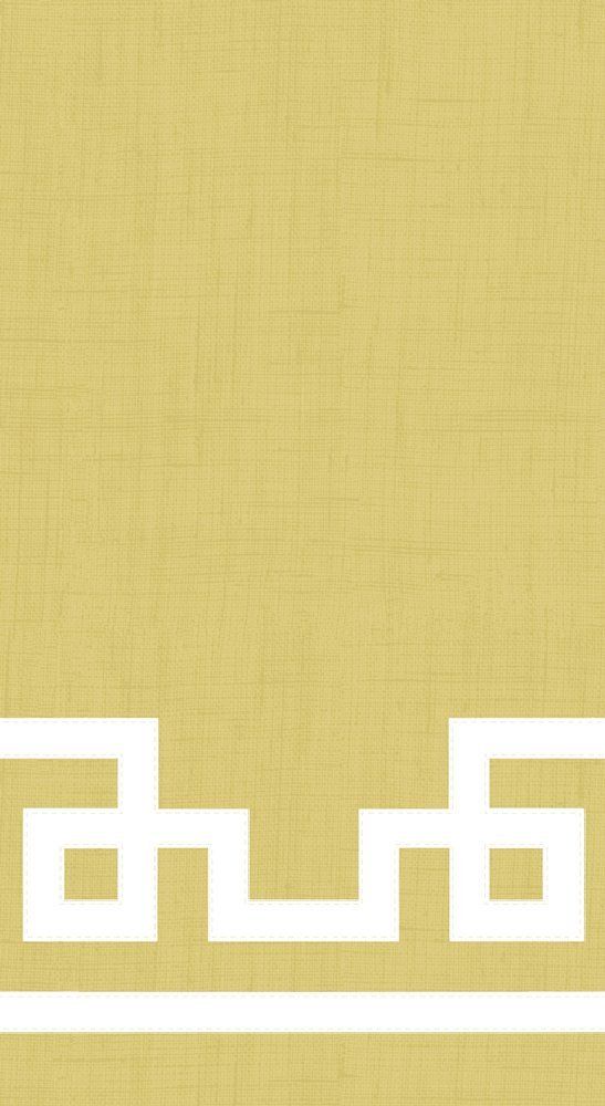 Entertaining with Caspari Rive Gauche Guest Towels, Gold, Pack of 15