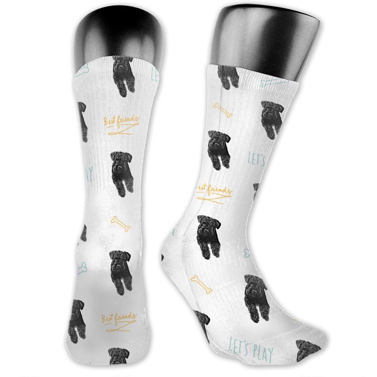Cotton Dress Socks For Men Women Casual Bouvier Des Flandres Socks