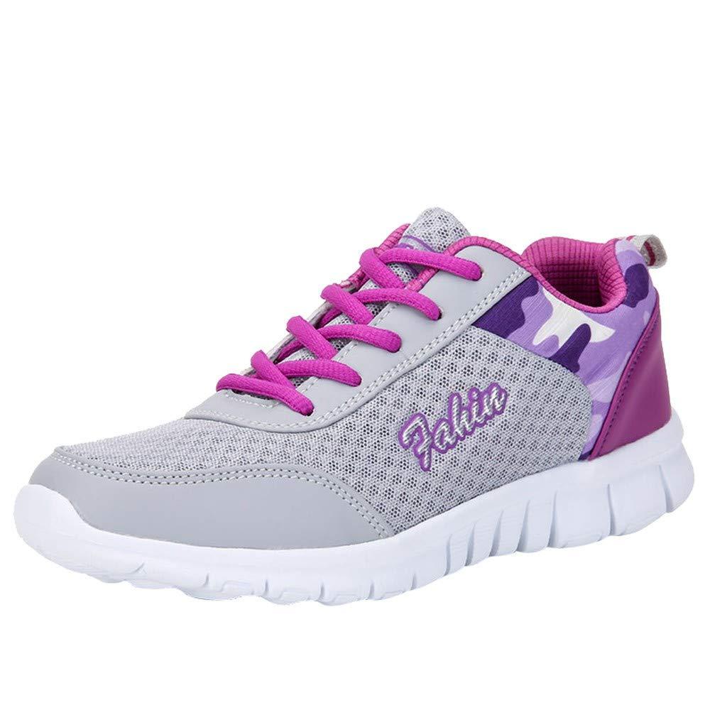 ZEZKT Chaussures de Sport, Baskets Mode Mixte Adulte Chaussures de Course Basses Athlétique Marche Filets Sneakers Chaussures à Randonnée Chaussures de Running Chaussures de Fitness