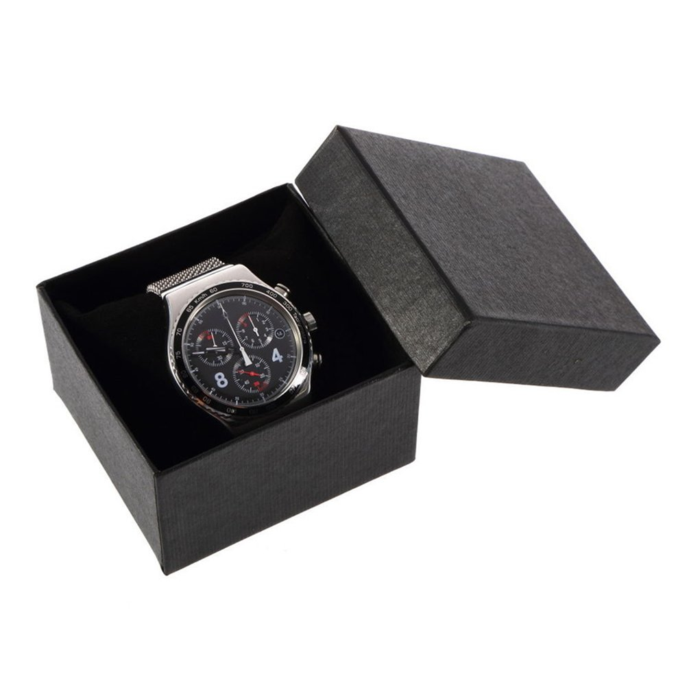 Honghong Cardboard Present Gift Box Watch Bracelets Gift Box Storage Box with Cushion