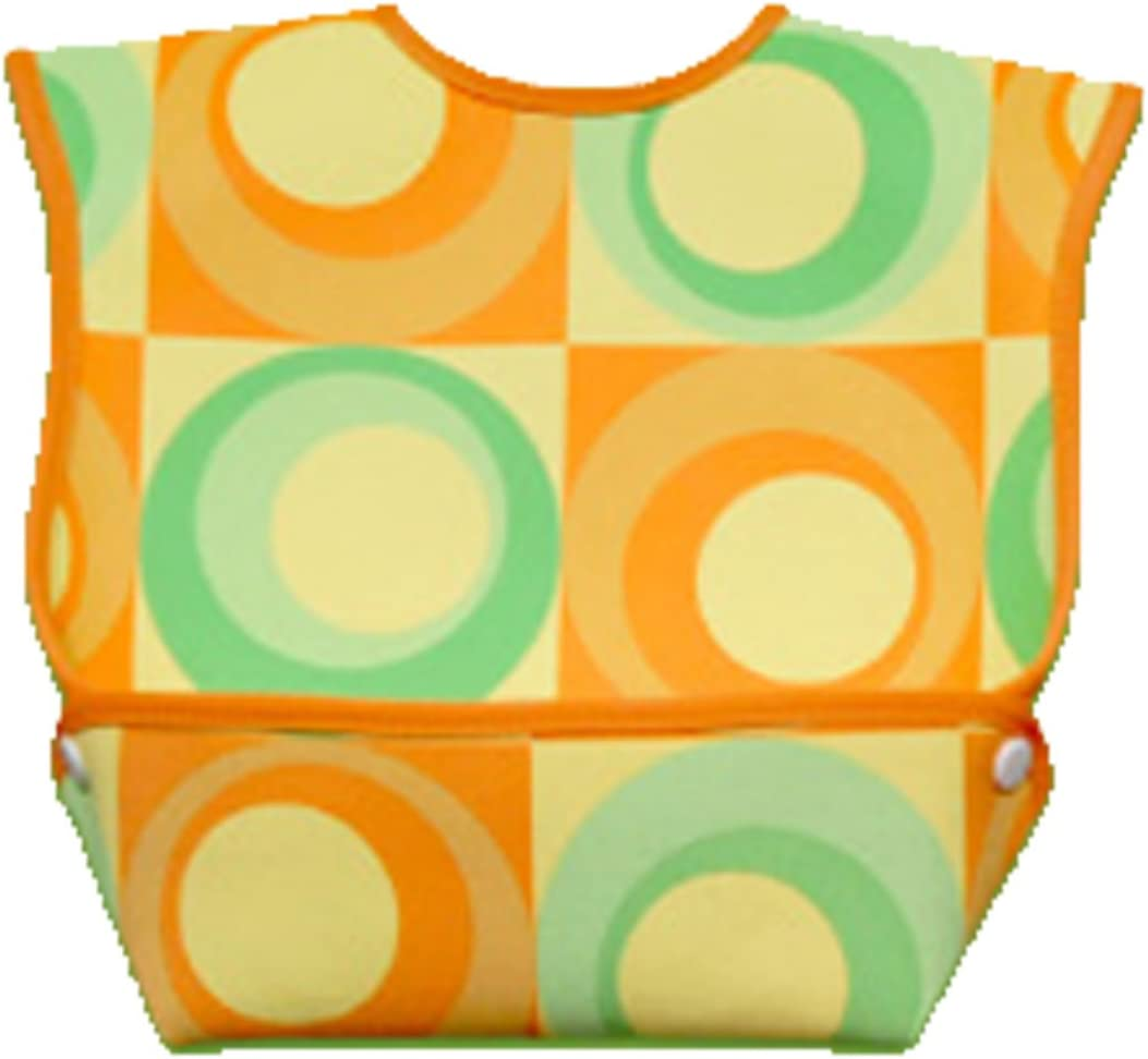 Dex Dura Bib Big Mouth,9-24 months,Orange,Green,Yellow