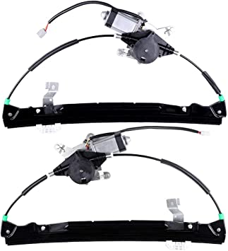 748-506 Rear Left Drivers Side Replacement Power Window Regulator with Motor fit for 2002-2010 Mercury Mountaineer 2002-2010 Ford Explorer 2003-2005 Lincoln Aviator 6L2Z7827001BA 3L2Z7827009BA