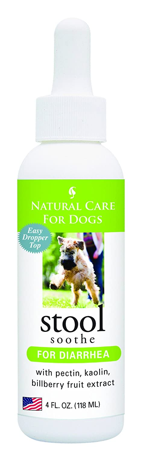 Natural care for dogs; Stool Soothe for diarrhea with pectin kaolin bilberry fruit extract; 4 fl. oz.