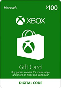Xbox $100 Gift Card - Digital Code