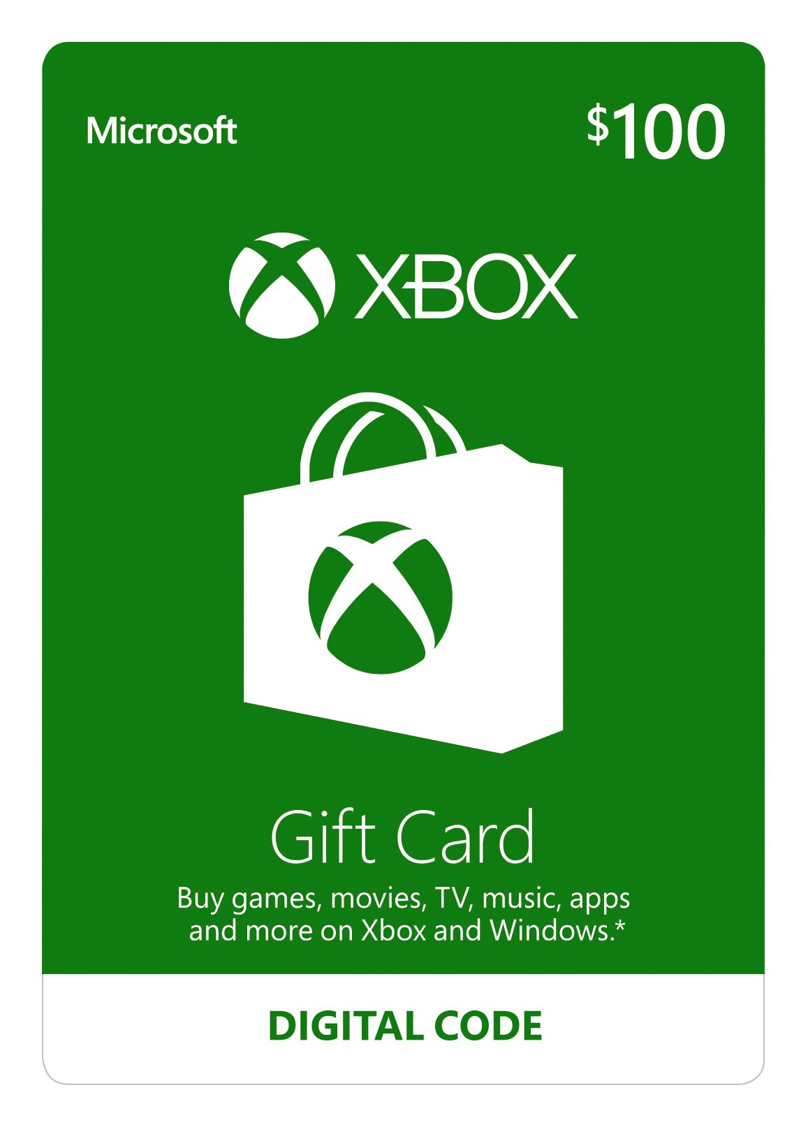 Amazon com: $10 Xbox Gift Card [Digital Code]: Video Games