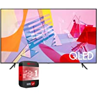SAMSUNG 75 inch QN75Q60TAFXZA Class Q60T QLED 4K UHD HDR Smart TV 2020 Bundle with Support Extension