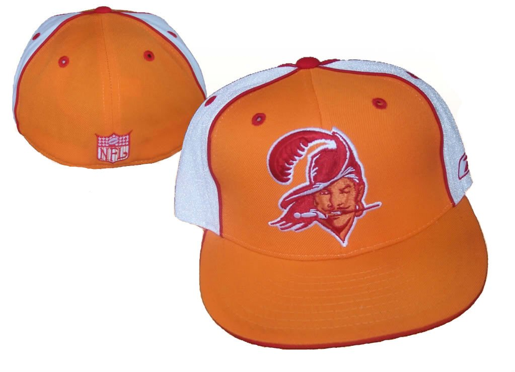 Tampa Bay Buccaneers nflリーボックヴィンテージFittedサイズ7 3 / 8帽子キャップ   B0089N68T2