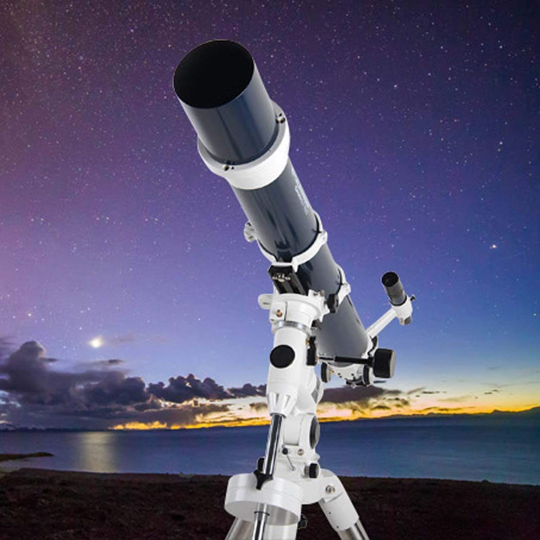 GGPUS Telescope for Professional Adults Astronomy Beginners, Refractor Telescope for Astronomy, Limit Star 12.5, Finder Mirror 6 X30, Focal Length 1000Mm with Tripod by GGPUS