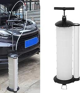 Oil Fluid Extractor, 7L Manual Vacuum Fuel Petrol Pump Transfer Syphon Suction
