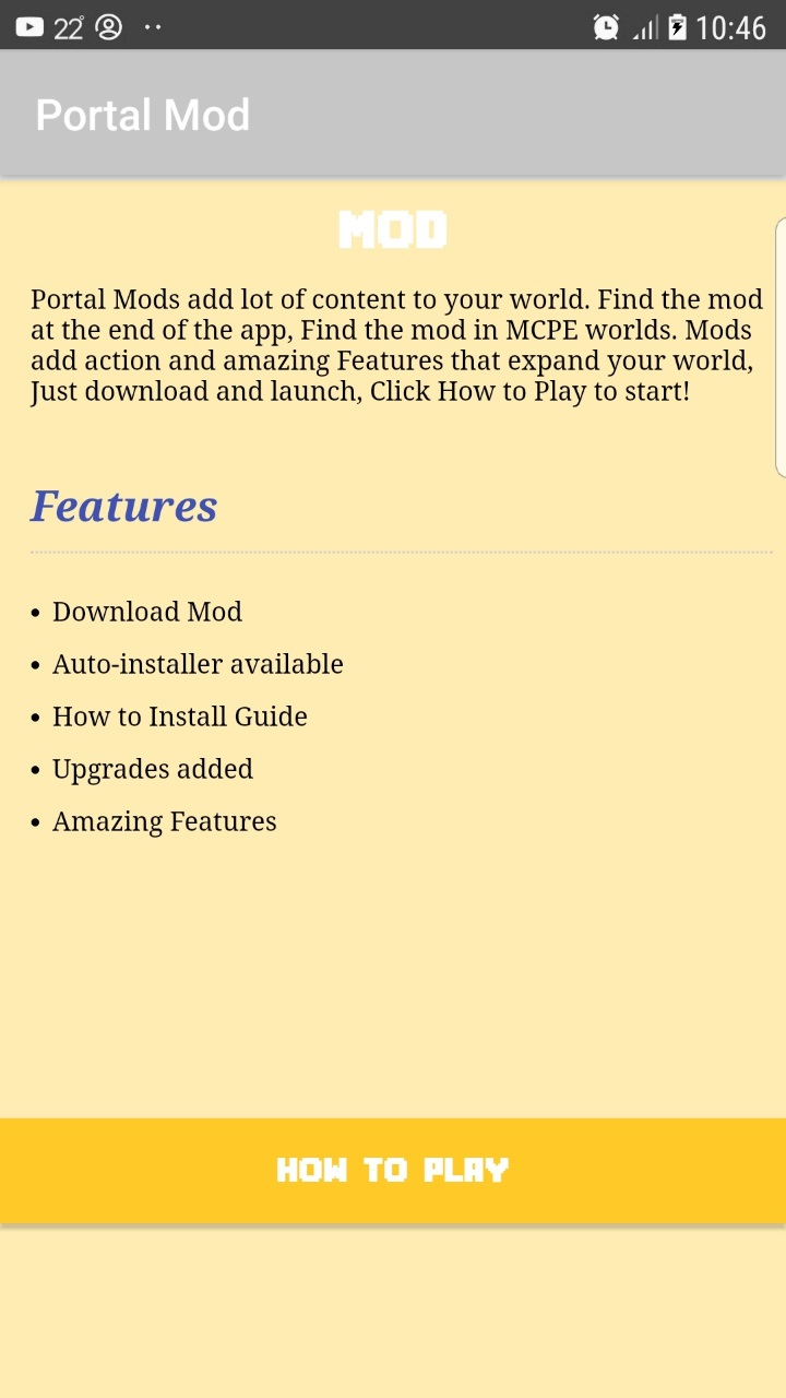 Amazon com: Portal Mod: Appstore for Android