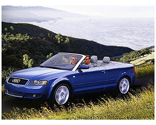 2003 Cabriolet (2003 Audi A4 3.0 Cabriolet Factory Photo)