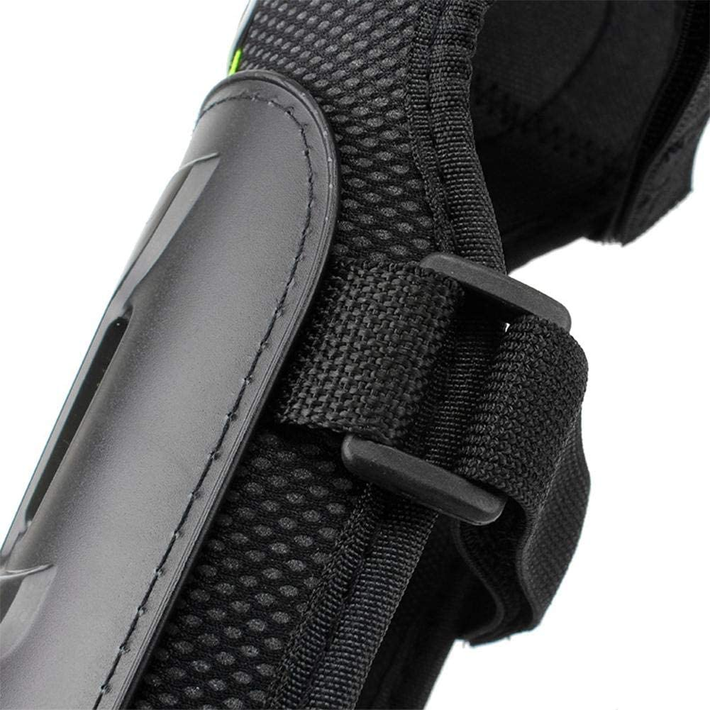 Motorcycle Pads Elbow and Knee Pads Motocross Protection Shin Pads Body Protection Set for Adults 4 Pieces
