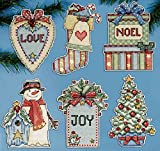 Design Works Country Christmas Ornaments Cross Stitch Kit