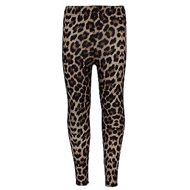 5ca6b8ab598d6a Girls Legging Kids Animal Leopard Print Fashion Stylish Trendy Leggings Age  5-13 Years: Amazon.co.uk: Clothing