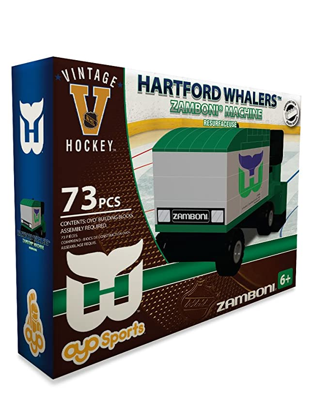 Amazon.com: Oyo Sports NHL para construir Zamboni Hartford ...