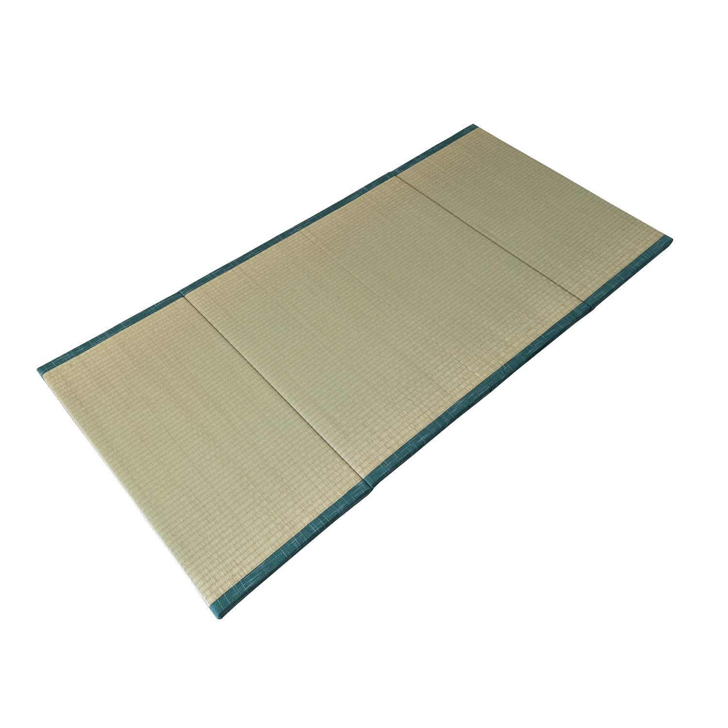 MustMat Tatami Mat Japanese Traditional Igusa Rush Grass Tatami Mattress Folds Easily 35.4''x78.7''x1.2'' by MustMat