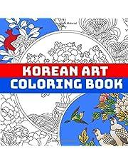Korean Art Coloring Book
