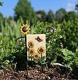 Cheap Miniature Fairy Garden Summer Dreams Mini Flag w/Post